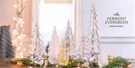 simon pierce glass cmas trees vermont made sler