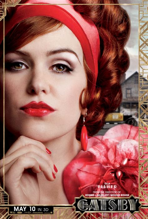 character posters   great gatsby released