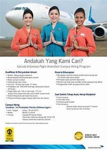 #254 - Garuda Indonesia Flight Attendant Campus Hiring ...
