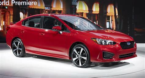 2017 Subaru Impreza Production Vs Concept