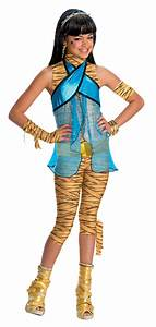 Monster High Kostüme Für Kinder : cleo de nile monster high kost m f r m dchen kost me f r kinder und g nstige faschingskost me ~ Frokenaadalensverden.com Haus und Dekorationen