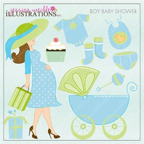 shower clipart boy boy baby shower digital clipart use ok