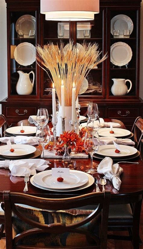 modern  stylish thanksgiving decor ideas digsdigs