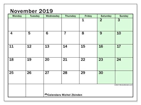 november calendar ms michel zbinden en
