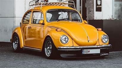 Beetle Volkswagen Retro Yellow Wallpapers Related Wallpaperscraft