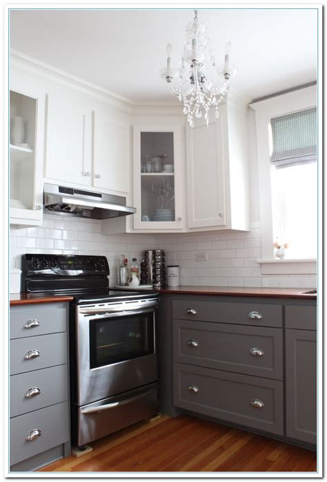 paintable kitchen cabinets information on two tone kitchens designs home and brown 1376