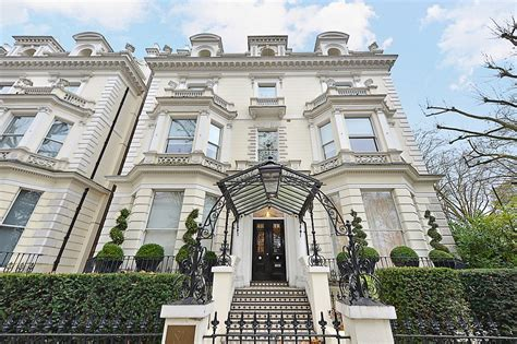 London's 'golden postcode' in Holland Park goes on sale ...