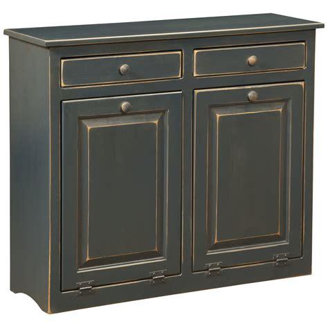 double trash can cabinet dcor design double cabinet with trash bin wayfair