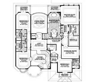 house plans two master suites florida style house plans 6664 square home 2 6 bedroom and 6 bath 3 garage