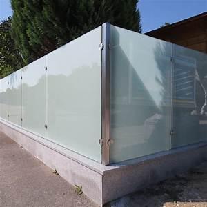 Zaun Aus Glas : edelstahl sichtschutz mit glas die neueste innovation ~ Michelbontemps.com Haus und Dekorationen