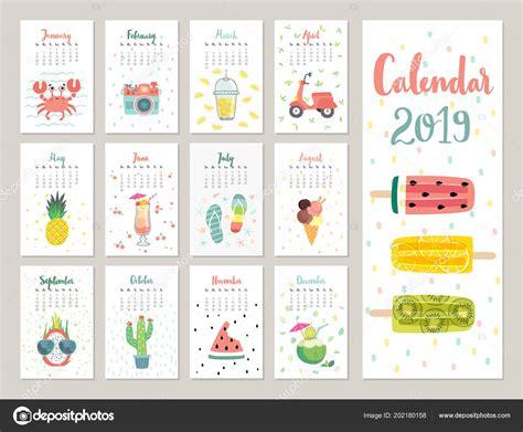 calendar  cute monthly calendar lifestyle objects