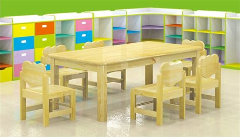 wooden tables and chairs for preschool preschool furniture 512 | TC004