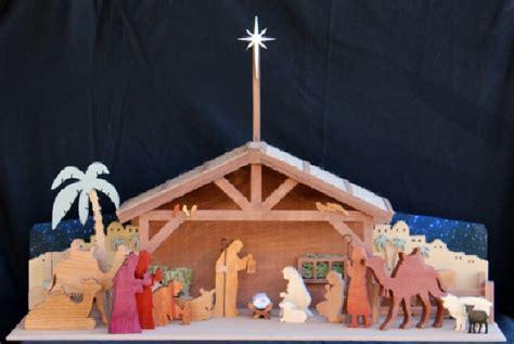 fs   holiday nativity  wood scrollsaw woodworking plan woodworkersworkshop