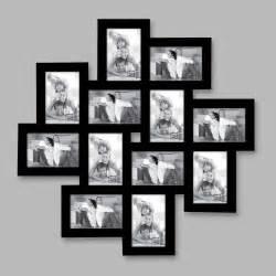cadre photo 12 vues noir pm164nc65 0 achat vente cadre photo sur maginea