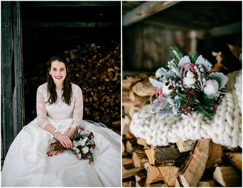 Winter Rustic Wedding Inspiration