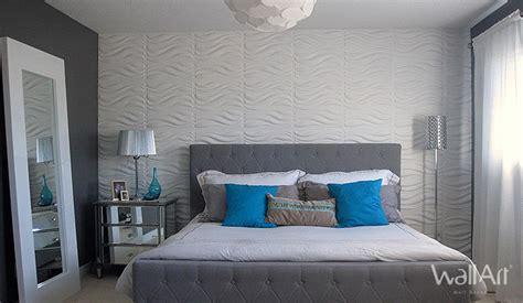 tete de lit chambre decoration mur tete de lit