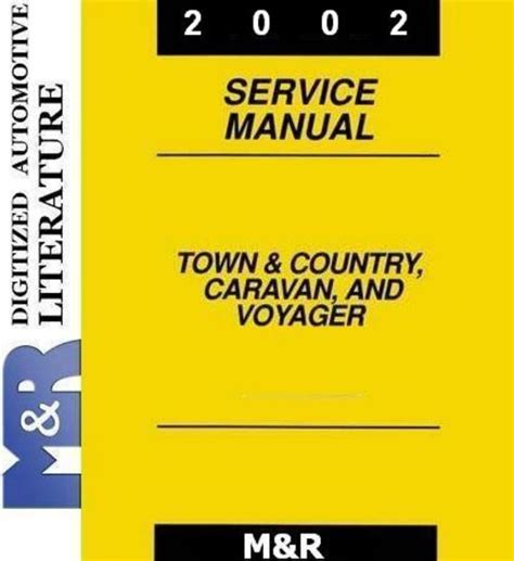 online auto repair manual 2002 dodge grand caravan parking system 2002 dodge caravan grand caravan service shop manual downloa