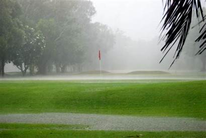 Golfers Weather Rain Lot Kept Guessing Reports
