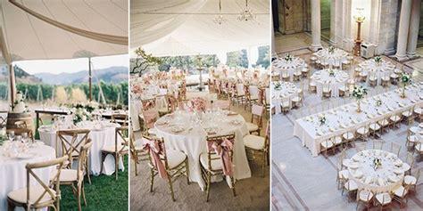 wedding reception table layout ideas a mix of rectangular and circular tables emmalovesweddings