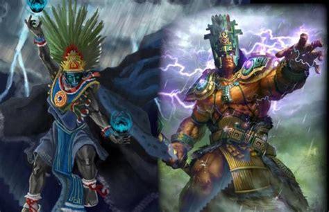 chaac  tlaloc  pre columbian mesoamerican gods