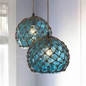 Glass japanese buoy pendant light it