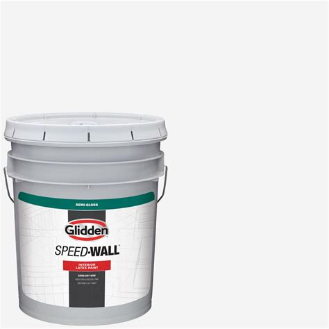 glidden professional 5 gal antique white semigloss