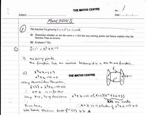 awesome grade 10 maths functions worksheets images
