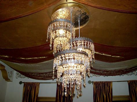 from a chandelier beading a chandelier hgtv