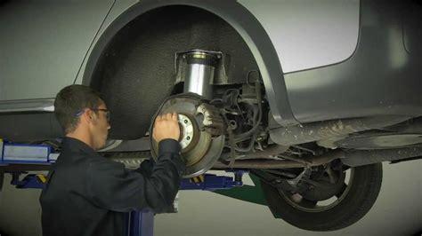 replacing  rear air suspension     audi