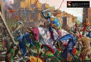 Medieval War Paintings