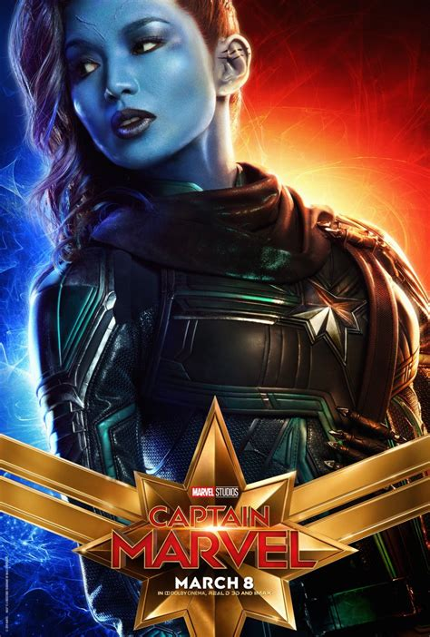 Love These New Captain Marvel Posters Goose The