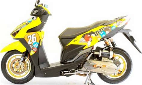 Cutting Sticker Vario by Modifikasi Cat Honda Vario Upcomingcarshq