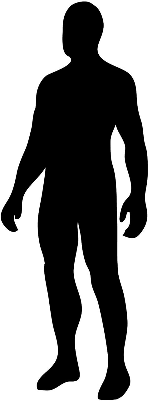 Human Clipart Human Silhouette Clip Clipart Best