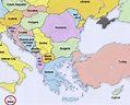 Southern Europe Geography Lesson - YouTube