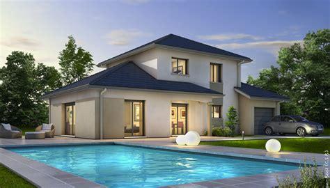 chambre habitat plan maison moderne semnoz plan maison 3d