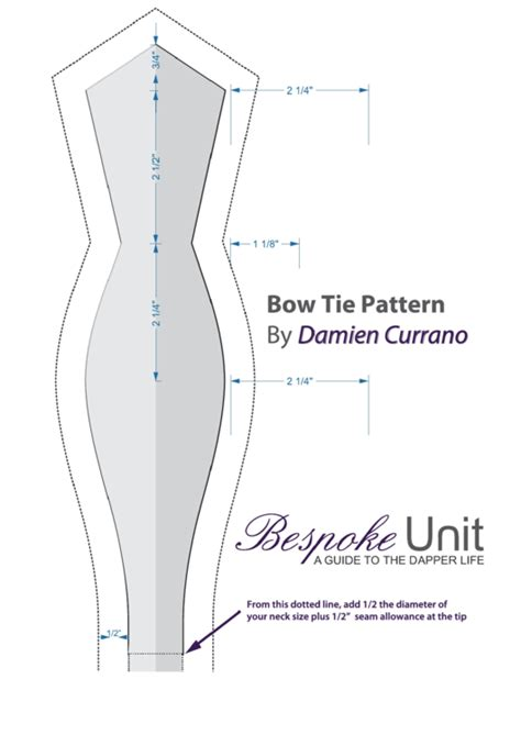bow tie pattern printable