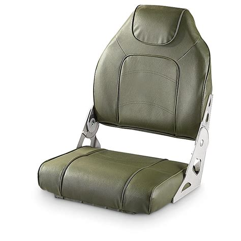 Back To Back Boat Seats For Sale Canada by Deluxe Big Man High Back Boat Seat 209460 Fold Down