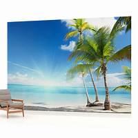 beach wall murals Beach Sea Sand Tropical landscape PHOTO WALLPAPER WALL ...