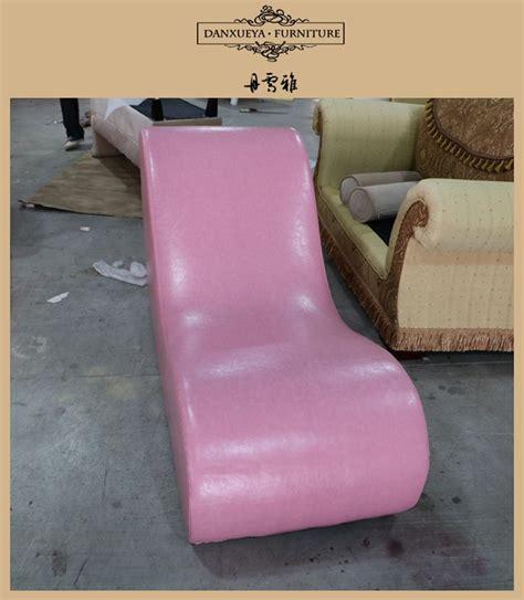 danxueya pink leather sex chair couplessexy chaise lounge