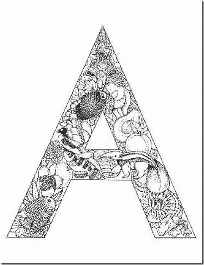Coloring Pages Letter Alphabet Letters Typepad