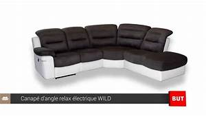 canape d39angle relax electrique wild but youtube With canapé d angle