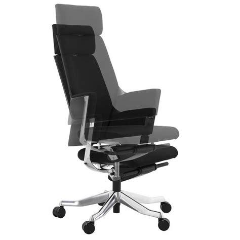 fauteuil bureau tissu fauteuil de bureau design ergonomique barbades en tissu noir