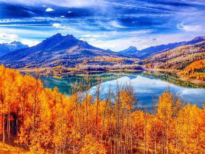 Autumn Sky Wallpapers 4k Landscape Fall Mountain