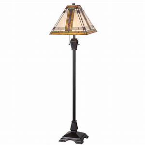 hampton bay bridgeton 58 in oil rubbed bronze floor lamp With 58 in paper shade floor lamp with pull chain