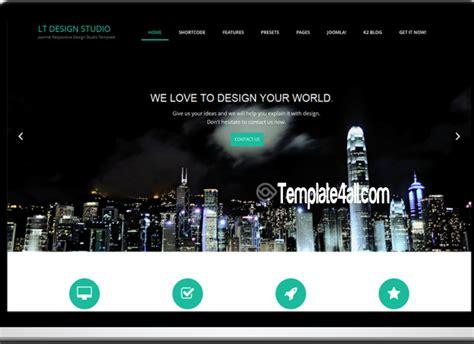 black responsive joomla template black responsive creative onepage joomla template