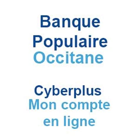 occitane banquepopulaire fr cyberplus particulier mes