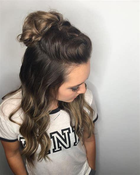 simple hairstyles  long hair   lazy girl