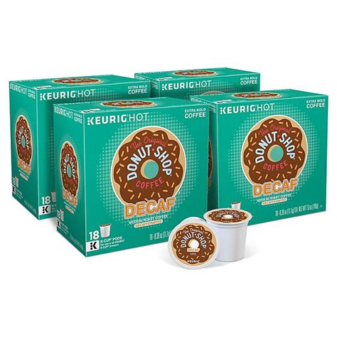 Additionally, you will also never get addicted to decaf coffee because there is no 12. The Original Donut Shop® Regular Decaf Coffee Keurig® K-Cup® Pods 72 Count | Bed Bath & Beyond