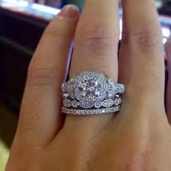 milgrain wedding band 19 gorgeous stacked wedding rings