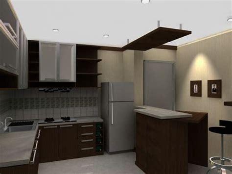 desain dapur  ruang sempit rumah minimalis
